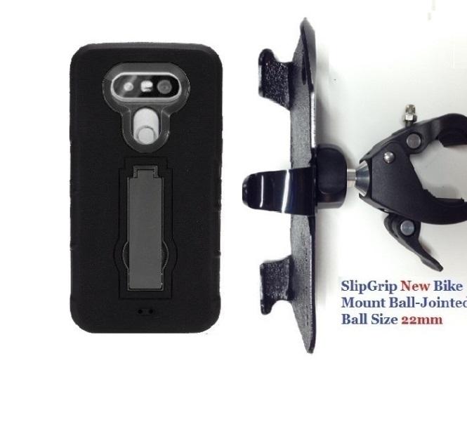 """Slipgrip 1.5"""" Bike Holder For Lg G5 Phone Using Hybrid De..."""