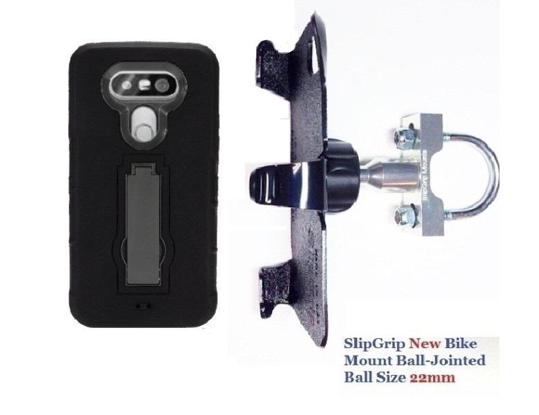 Slipgrip U-bolt Bike Holder For Lg G5 Phone Using Hybrid ...