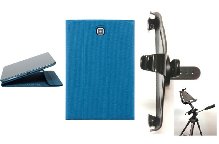 SlipGrip Tripod Mount For Galaxy A9.7 Tablet Using Canvas Smart Book Case