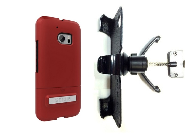Slipgrip Vent Holder For Htc 10 Phone Using Seidio Surfac...